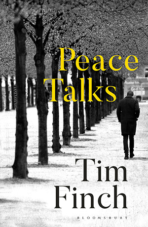 An extract from the cover of Peace Talks by Tim Finch
